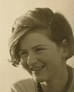 Annemarie, seen here at age 15, was eight years younger than George.